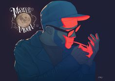 Mr. Rager by pacman23 on deviantART #night #illustration #smoking #drawing