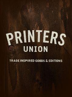 CHRISTOPHER MUCCIOLI #design #typography #wood