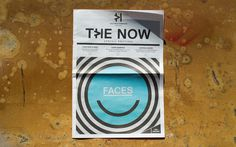 The Now newsletter #design #cover #melbourne #illustration #face #victoria #harbour #layout #magazine
