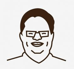 Facebook #vector #north #korea #lines #jong #thick #kim #illustration #il #awesome