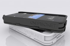 ONEPOCKET Case & Magic Wallet for iPhone 5S