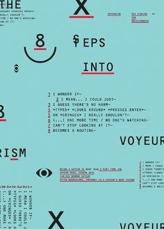ReVision Arts Gallery #voyeurism #revision #design #graphic #rui #exhibition #arts #ribeiro #poster