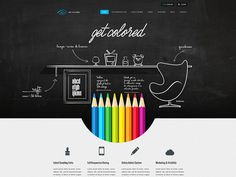 Get Colored Radium Portfolio by Cosmin Capitanu #web #mantle