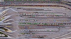 Aerial train photo #train #aerial #photo #birds #eye