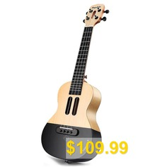 Populele #23 #inch #APP #LED #Bluetooth #USB #Smart #Ukulele #Gift #for #Beginners #1pc