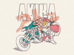 Akira x Colour and Lines