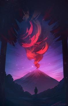 Erupt by ZandraArt