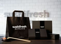 Sushifresh —Huaman studio #packaging #sushi