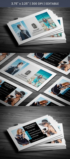 Free Cinematographer Business Card Template