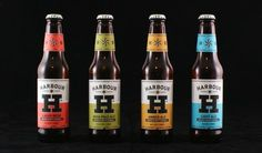 Harbour Brewing Co. #packaging #beer #label #bottle