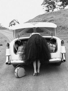 Sara Lindholm #car #female