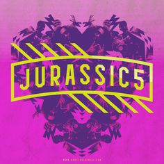 Jurassic 5  #typography #hiphop #jurassic5 #pink