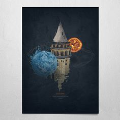 #galata #tower #timburton #water #fire #craziness