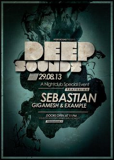 PSD Source - Deep Sounds Flyer