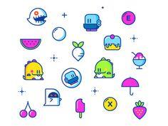 8bit, icon, icons
