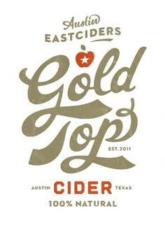 Flickr: super_furry's Photostream #beverage #super #top #cider #label #gold #furry