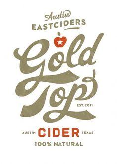 Flickr: super_furry's Photostream #beverage #super #top #cider #label #gold #furry