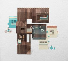 Resort Type on the Behance Network