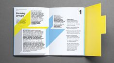 University of the Arts London #print #brochure #cut #die