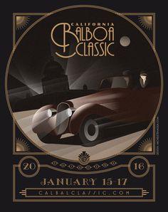 #poster #vintage #retro #balboa #swing #california #micheletenaglia