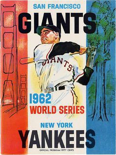 ephemera assemblyman: World Series Baseball Programs #mlb #world #retro #yankees #illustration #giants #vintage #series #baseball