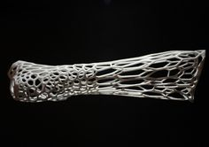 Cortex 3D-printed cast by Jake Evill #3d #print #hand #cast