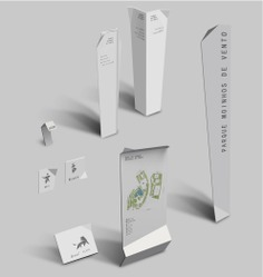 Wayfinding | Signage | Sign | Design | 白色折叠导视牌