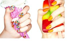 The Kit Summer 2012 Page 34 35 #nails #colour #crush