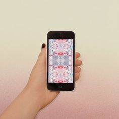 Spring Screensaver by sallie harrison #phone #screensaver #pattern #gradient #wallpaper