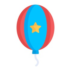See more icon inspiration related to balloon, miscellaneous, celebration, entertainment, decoration and party on Flaticon.