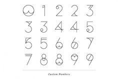 www.latigre.net #numerals #identity #branding #typography