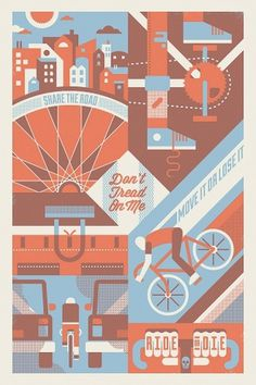The Inspiration Stream | Veerle's blog 3.0 - Webdesign - XHTML CSS | Graphic Design #biking #poster