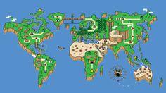 Super Mario Bros. World Map