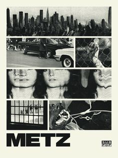 Metz - Doublenaut #gig #poster