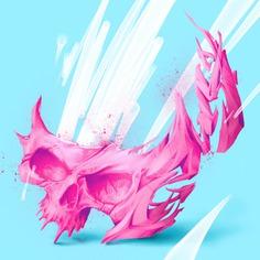 Skull Digital Illustration