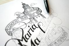 Hand Lettering #lettering #hand