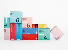 Packaging | Stockholm Design Lab #blue #red #green #color