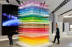 18,000 Paper Silhouettes in 100 Shades of Colors by Emmanuelle Moureaux