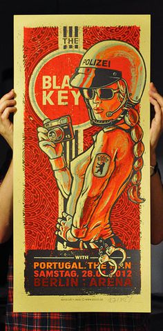The Black Keys - Gig Poster