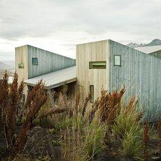 Dezeen architecture and design magazine #house #plank #modern #landscape #wood #architecture #rural #iceland