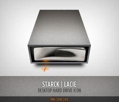 Leonel Toribio - Blog #desktop #lacie #icon #illustration #drive #hard #metal