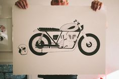 Brixton Visual Relay: John Antoski | I'm A OK #drawing #motorcycle