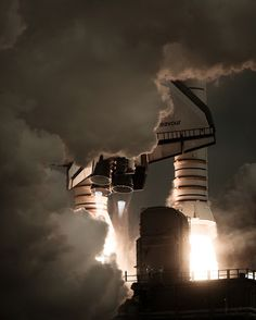 Photographer Dan Winters #photography #space #exploration #shuttle #launch #rocket #fuel #ignition