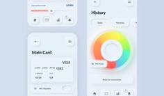 Skeuomorphism / Neumorphism UI Trend - Masterpicks - Design Inspiration