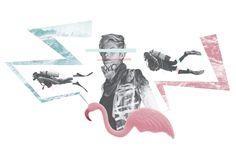 Scuba Collage - John Sippel | vltrr