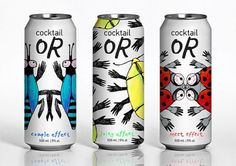 or_cocktail on the Behance Network #packagevanifatieva #coctail #or #julia