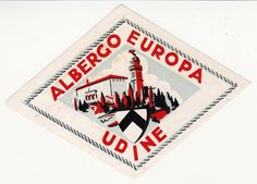 fashionably bored #design #graphic #travel #label #vintage #europe