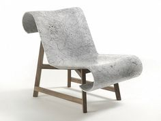 Marble chair by Riva 1920