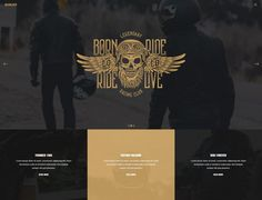 Revolver – A Gentlemen's Theme for Tattoo Salons, Barbershops, Pubs and Biker Clubs