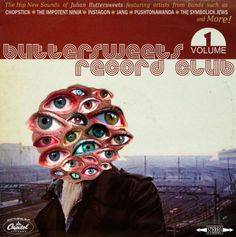 buttersweets+record+club.png (PNG Image, 612 × 616 pixels) #imperfectionist #eyes #sacramento #sleeve #record #buttersweets #music #collage #club